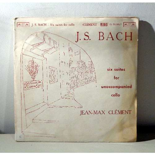 JEAN MAX CLEMENT JS BACH Six suites for cello