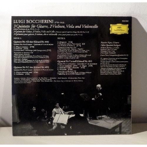 MELOS QUARTETT & NARCISO YEPES BOCCHERINI Gitarren quintette n°4,7,9  La ritirata di Madrid