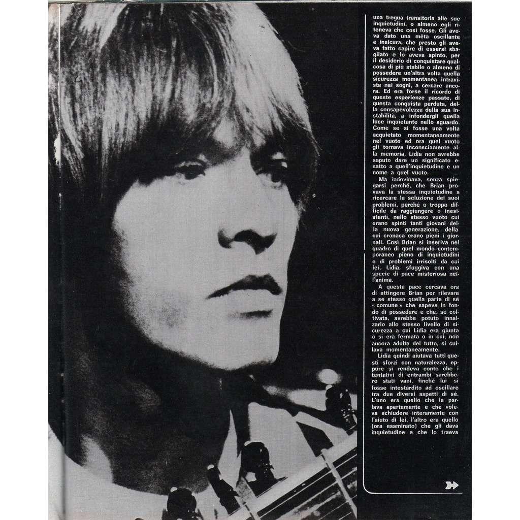 Rolling Stones / Brian Jones Ciao 2001 (12.08.1973) (Italian 1973 music magazine!!)