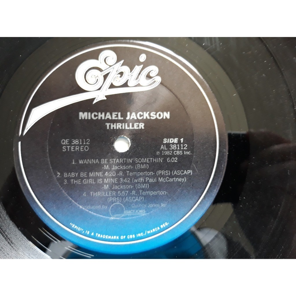 Michael Jackson - Thriller (LP, Album) Michael Jackson - Thriller (LP, Album)