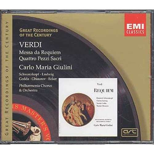 Giuseppe Verdi / Carlo Maria Giulini Messa da Requiem / Quattro Pezzi Sacri