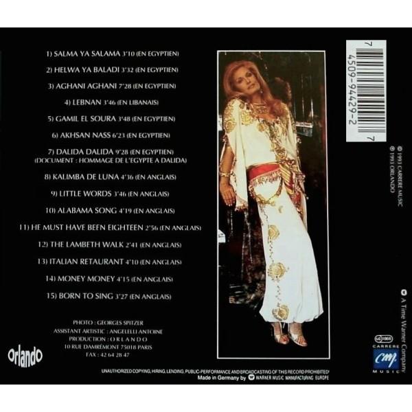 Dalida Paroles D'Ailleurs (Dalida chante En Egyptien, En Libanais, En Anglais)
