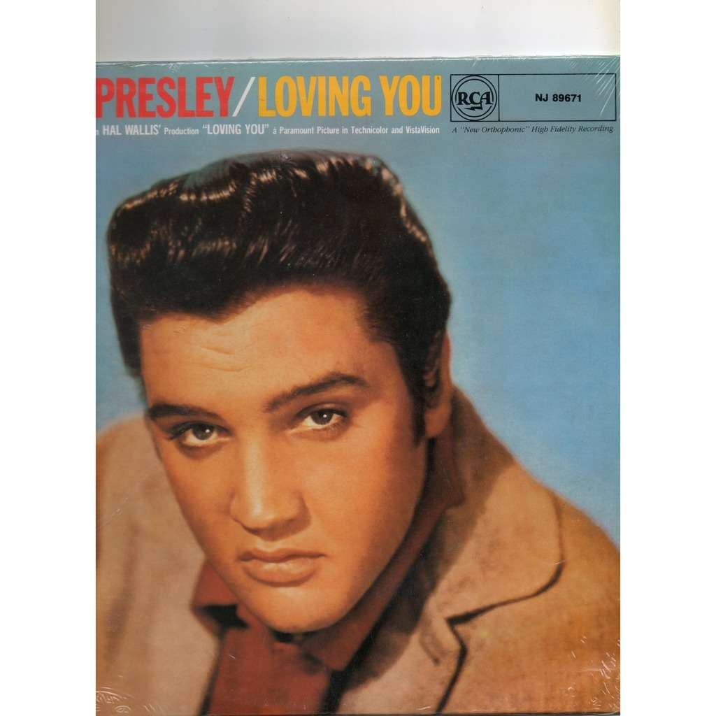 Elvis Presley Loving You