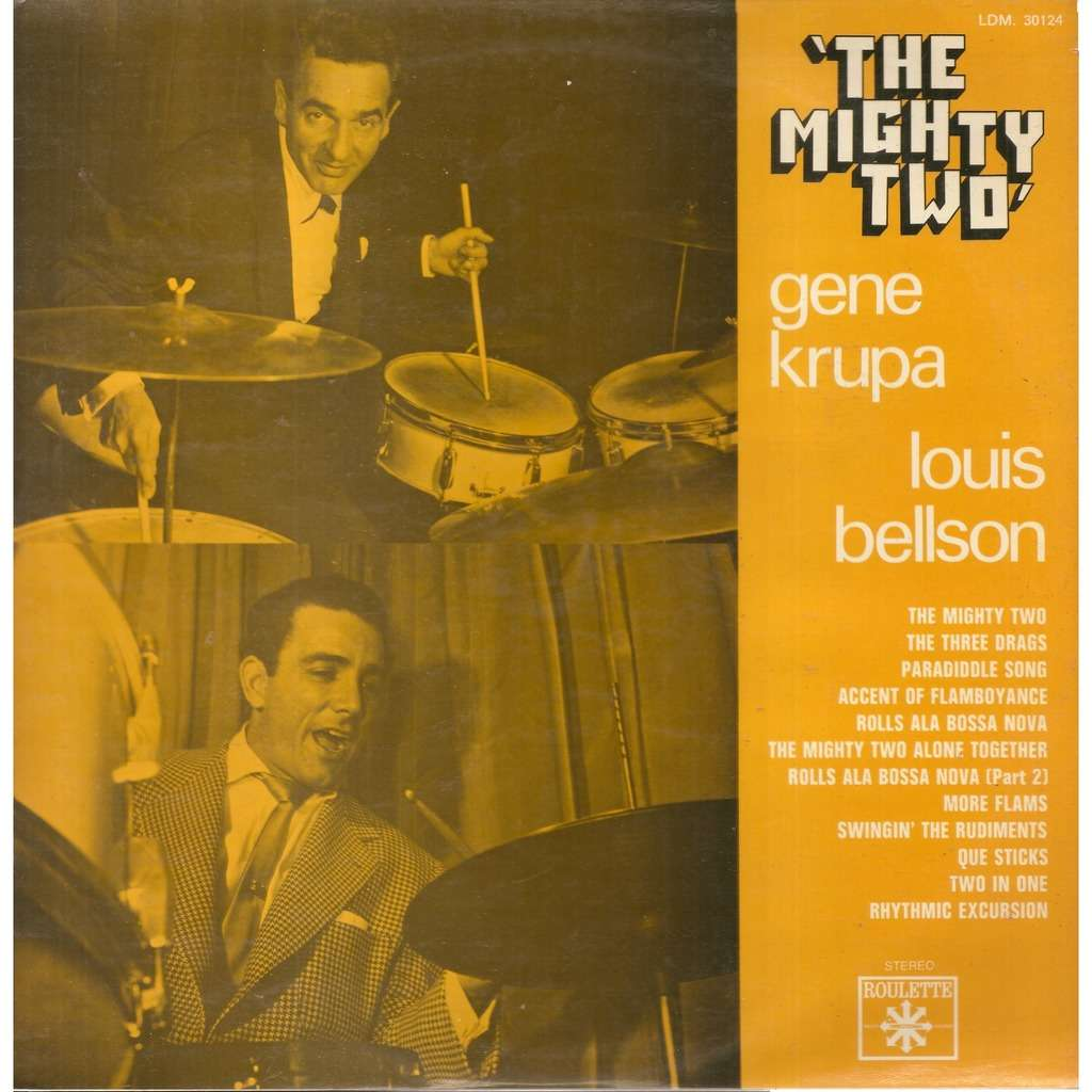 Gene KRUPA & Louis BELLSON The Mighty Two