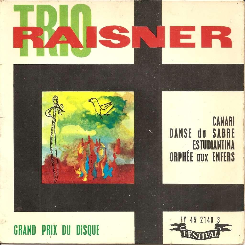 TRIO RAISNER Canari