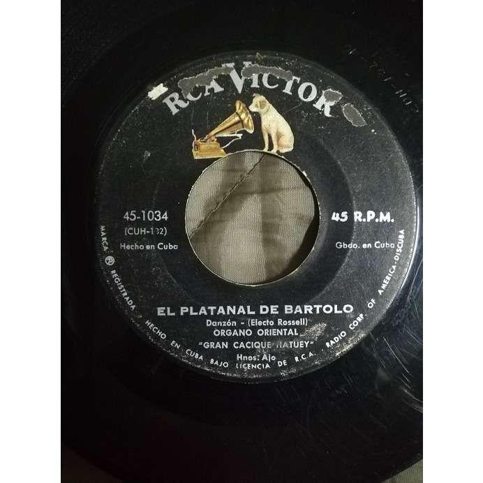 Gran Cacique Hatuey, Organo Orienta EL platanal de bartlo(danzon)/Son de la loma(danzon)
