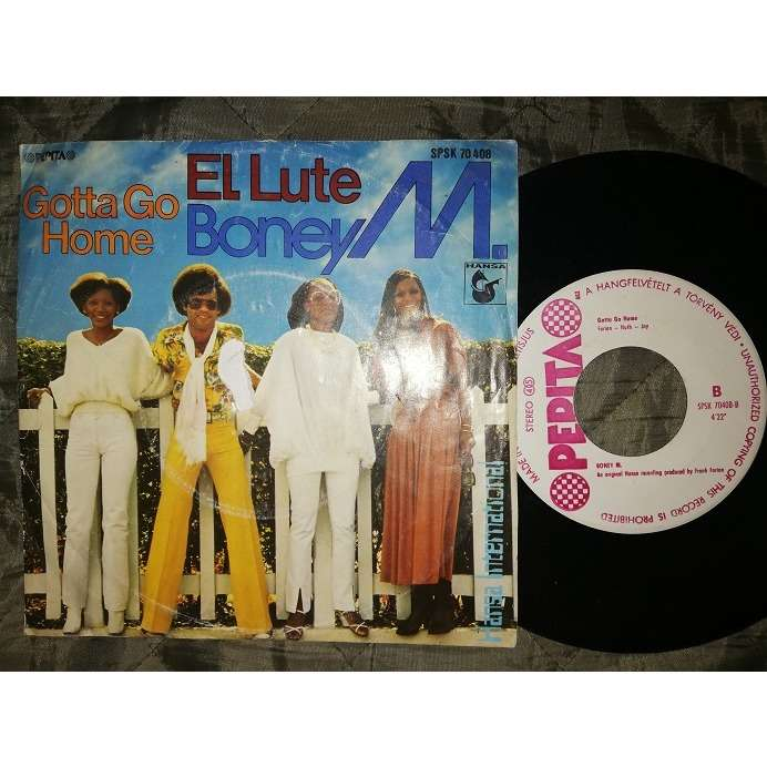 Boney M Gotta Go Home/EL lute