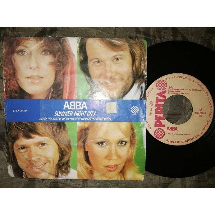 ABBA Summer night city Medley