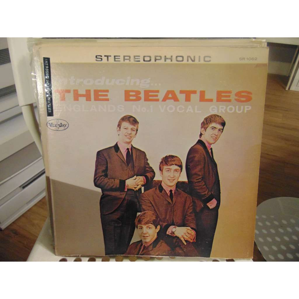 the beatles introducing... on Vee Jay record
