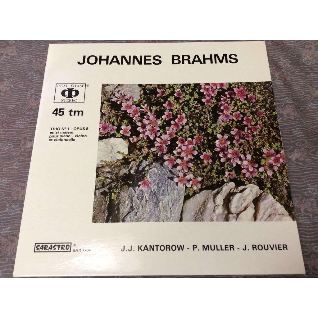 Kantorow / Muller / rouvier Brahms trio no.1 op.8
