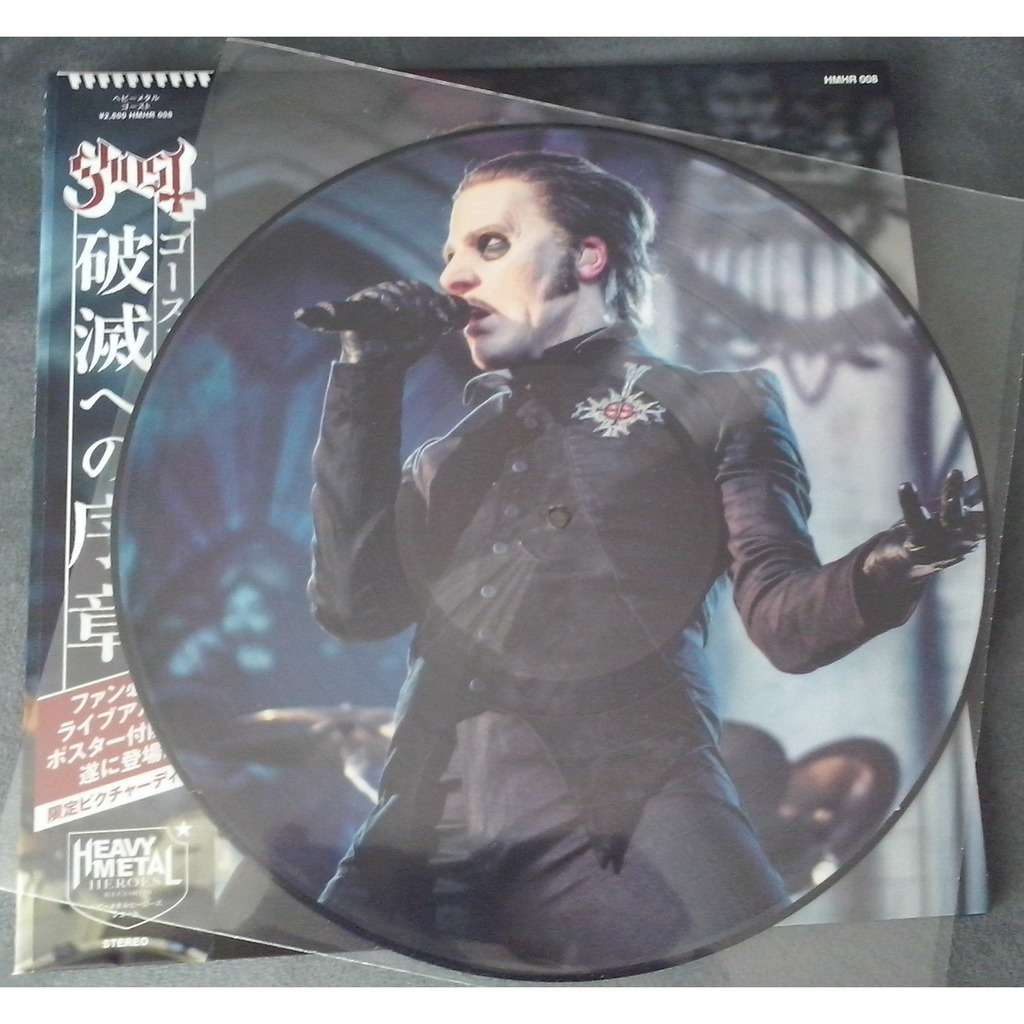 Ghost Prequelle In Belgium (lp) Ltd Edit Picture Disc With Poster -Jap