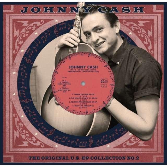 Johnny Cash The Original U.S. EP Collection No.2 (10') Ltd Edit White Vinyl -U.K