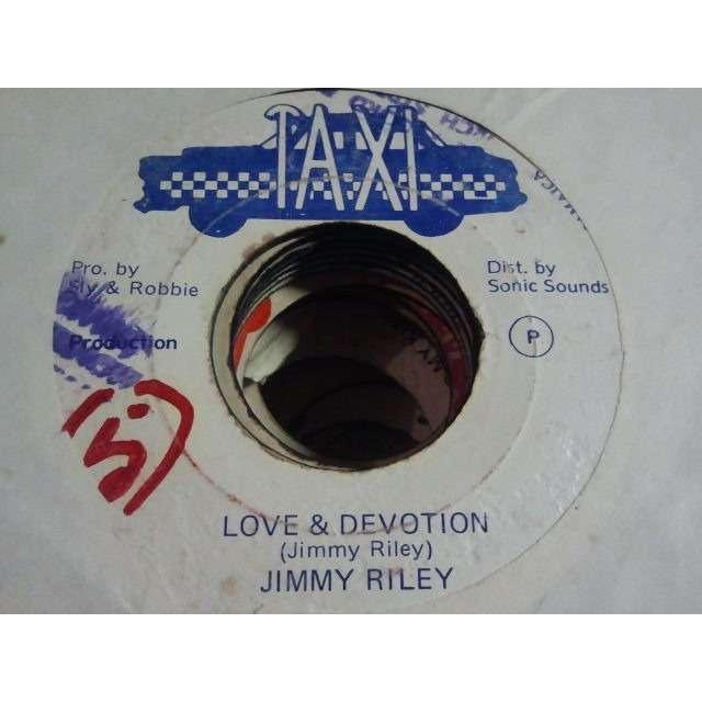 JIMMY RILEY / SLY & ROBBIE & THE REVOLUTIONARIES 'LOVE & DEVOTION / DRUNKEN MASTER' ORIG.