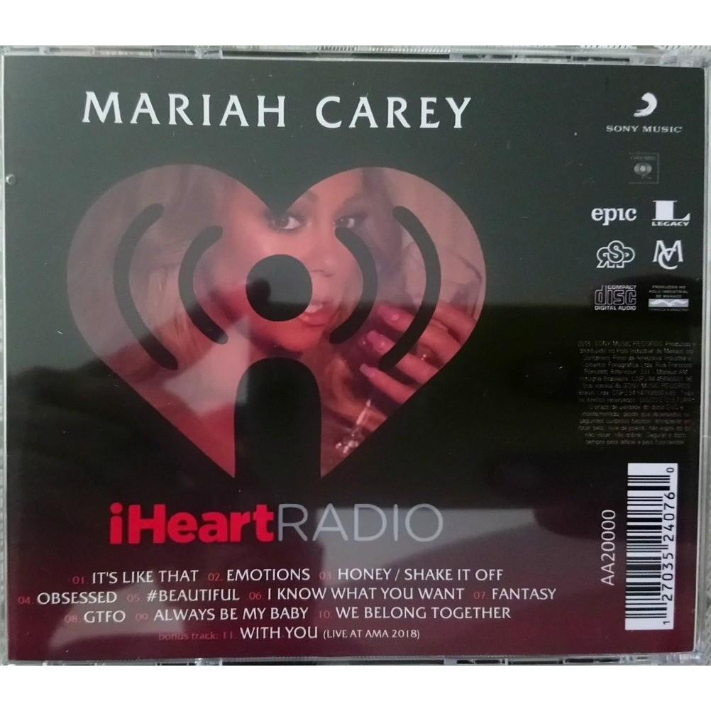 mariah carey iHeart Radio (Brazil release 2018, very rare )