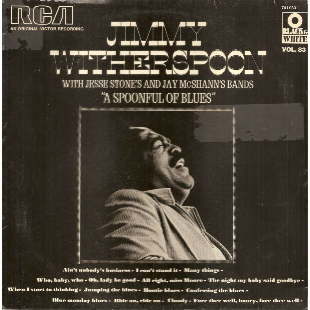 Jimmy WITHERSPOON A Spoonful of Blues