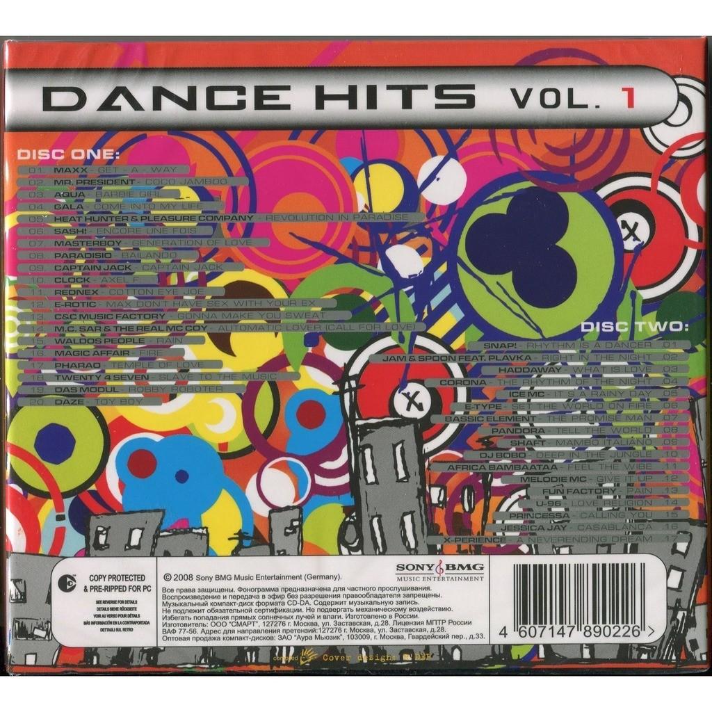 I love 90s - dance hits vol  1 (eurodance) 2xcd digipak by Various, CD x 2  with testuser01