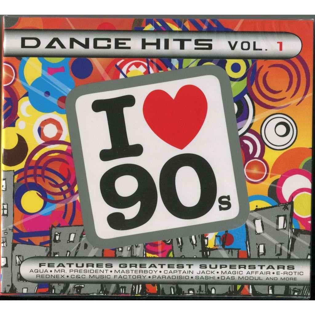Various I Love 90s - Dance Hits Vol  1 (EuroDance) 2xCD Digipak