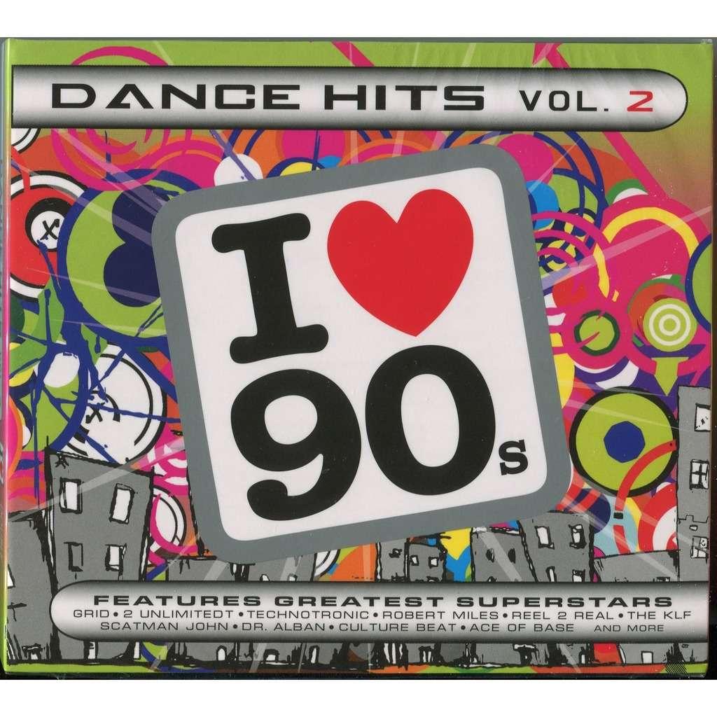 Various I Love 90s - Dance Hits Vol  2 (EuroDance) 2xCD Digipak