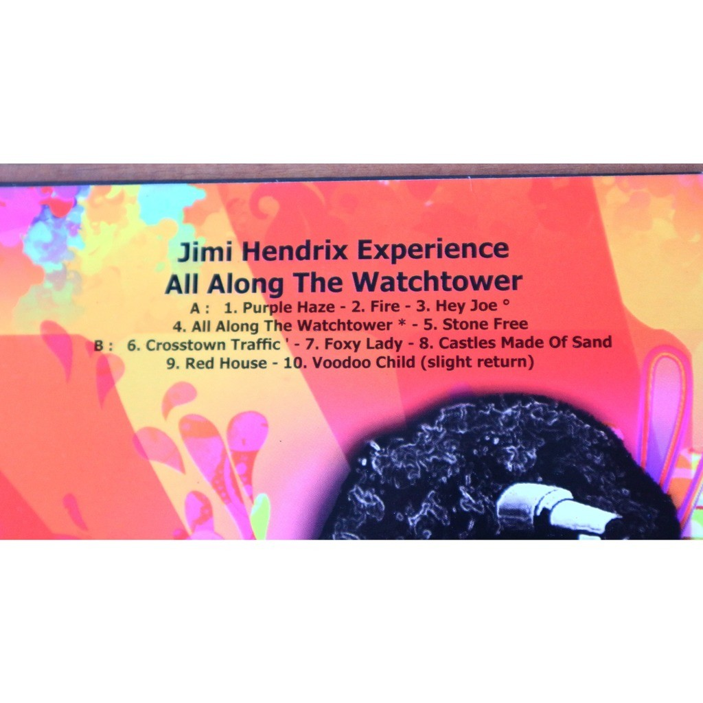 The Jimi Hendrix Experience All Along The Watchtower / limited edition picture disc for Jimi Hendrix Fan Club South Africa