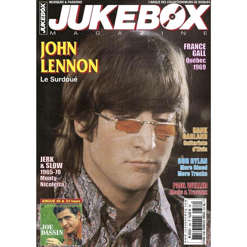 N°386 (FEVRIER 2019) JOHN LENNON MAGAZINE - JUKEBOXMAG.COM