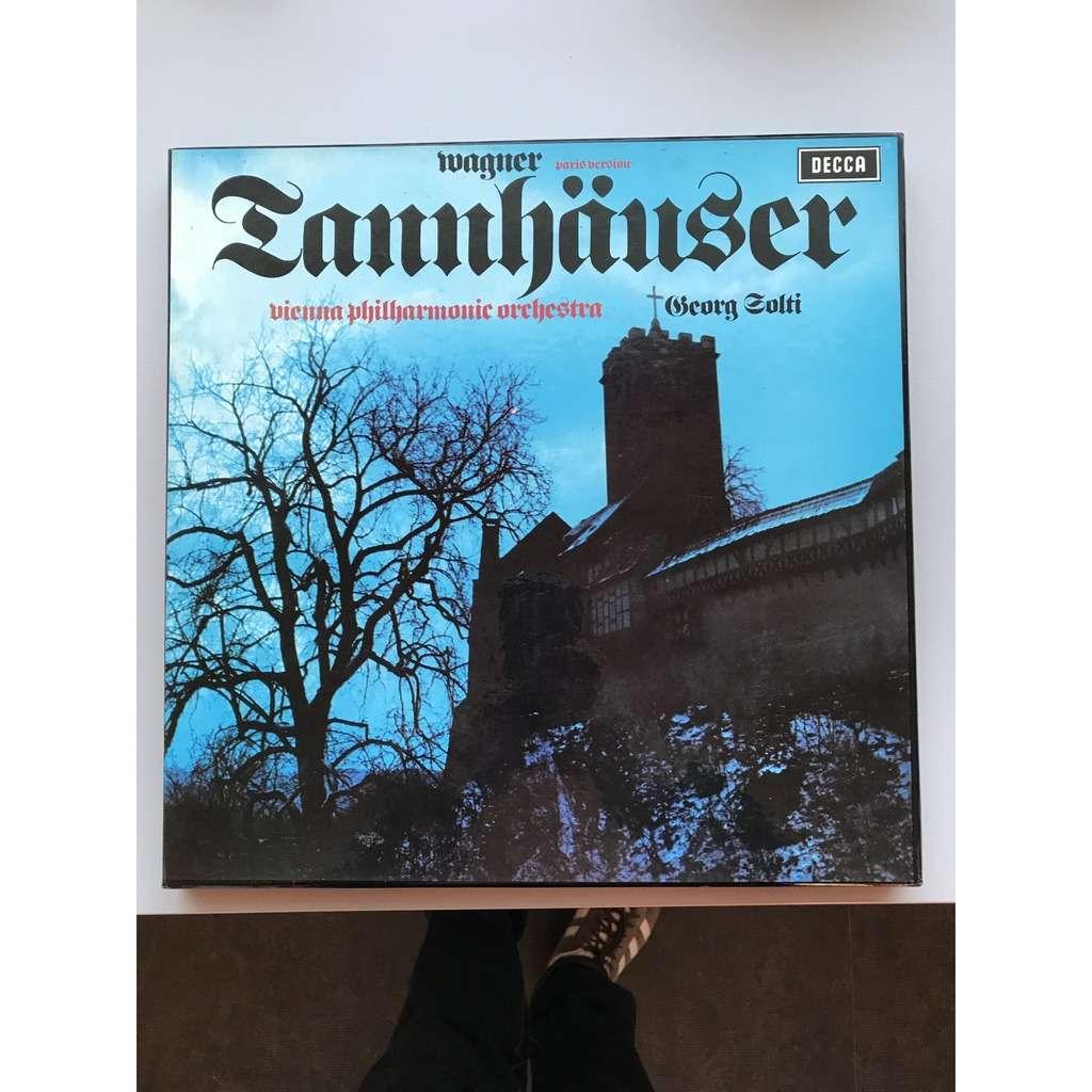 WAGNER / SOLTI TANNHAUSER