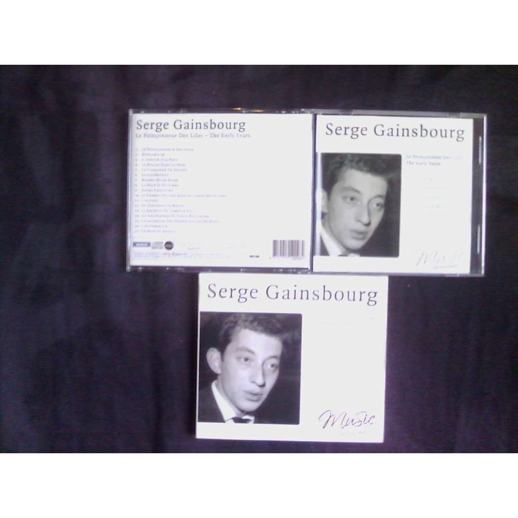 serge gainsbourg le poinconneur des lilas - the early years