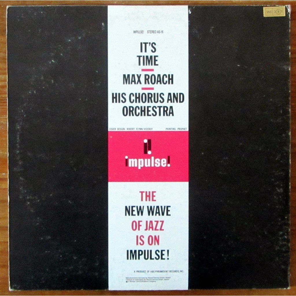 Max Roach His Chorus And Orchestra It's Time