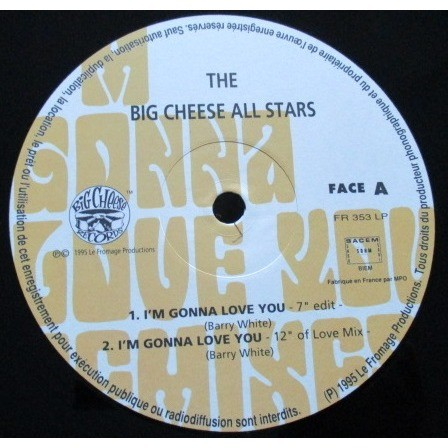 big cheese all stars i'm gonna love you (remixes)