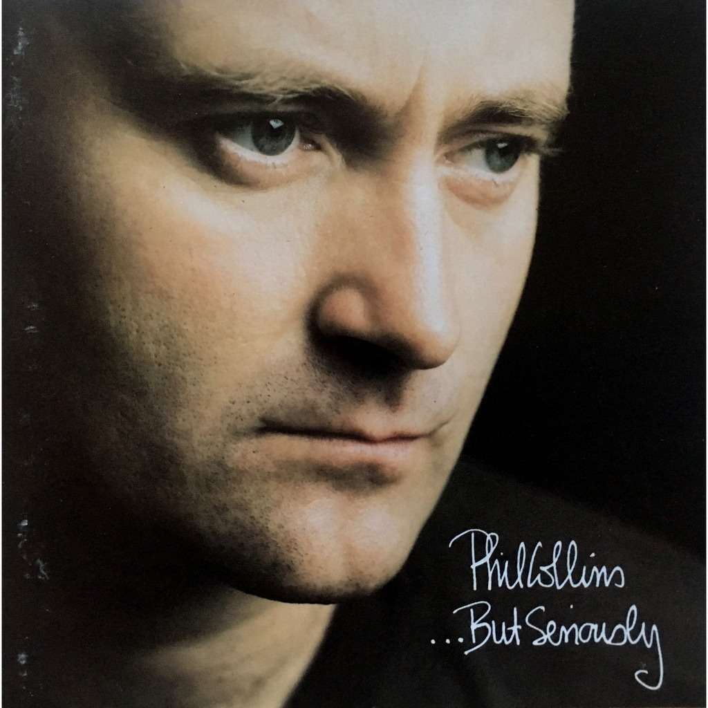 PHIL COLLINS - ... BUT SERIOUSLY (GER. PRESSING 1 CD)
