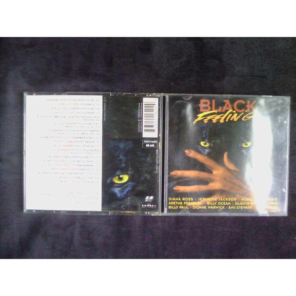 compilation . divers . various artists black feeling