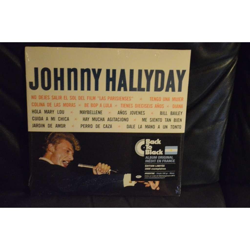 Johnny Hallyday .Johnny Hallyday. ( argentine )