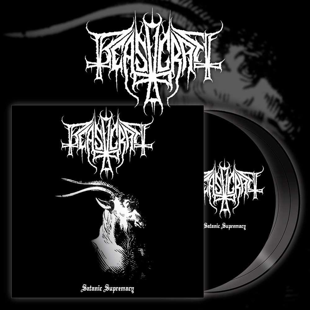 BEASTCRAFT Satanic Supremacy. Black Vinyl