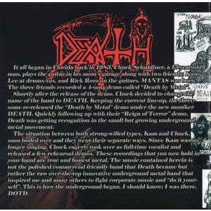 Death Demos #1, #2 & 1984 Rehearsal