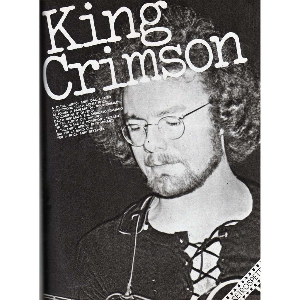 King Crimson Ciao 2001 (13.04.1980) (Italian 1980 music magazine!!)