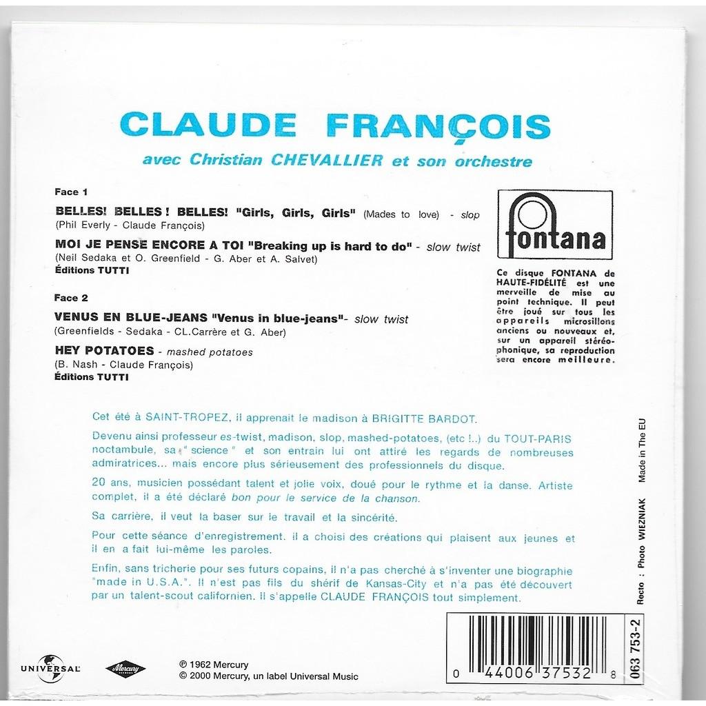 CLAUDE FRANCOIS belles! belles! belles!