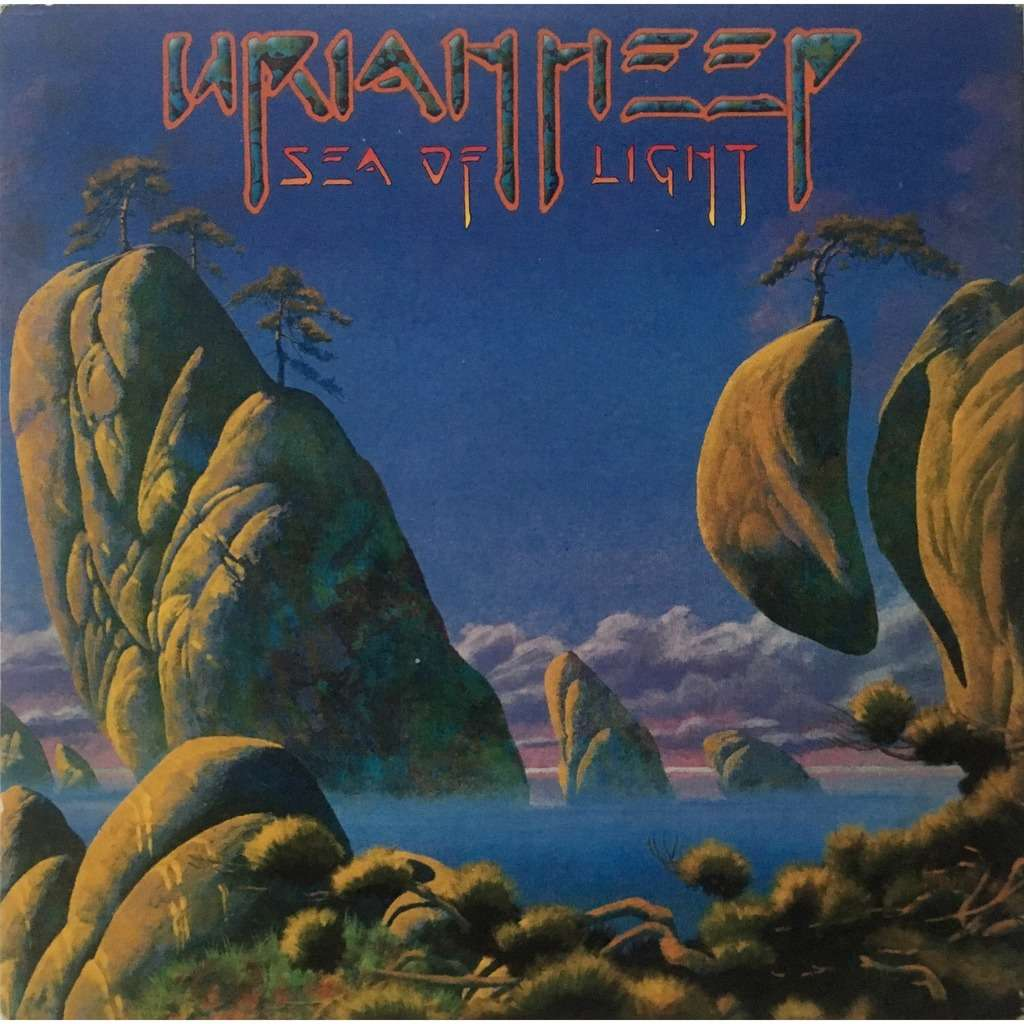 Ger Pressing Promo Copie 1 Cd Card Sleeve By Uriah Heep Sea Of Light Cd With Rockandrollheaven Ref 119445882