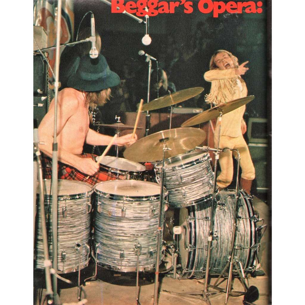 Beggar's Opera Ciao 2001 (28.05.1972) (Italian 1972 music magazine!!)