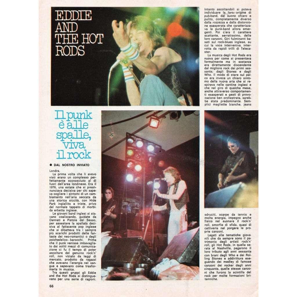 Eddie & The Hot Rods Ciao 2001 (30.09.1979) (Italian 1979 music magazine!!)