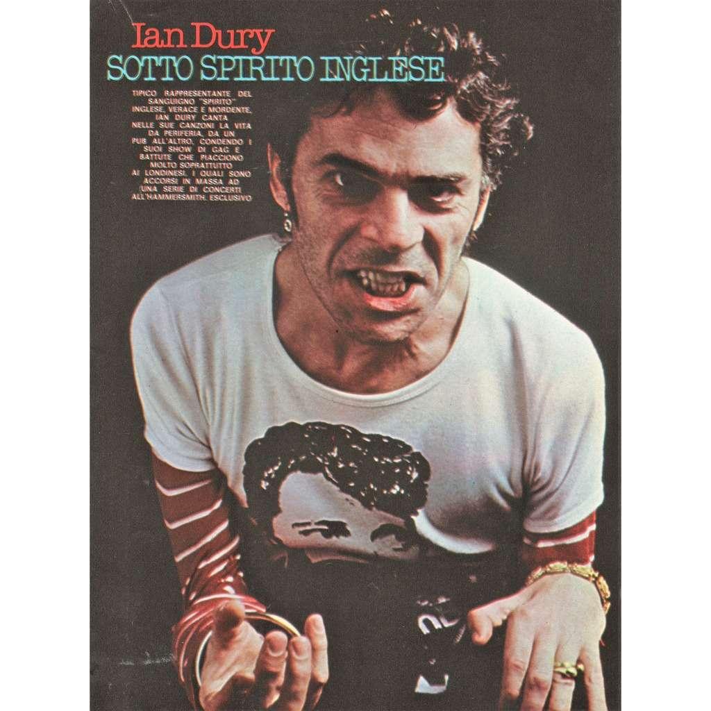 Ian Dury Ciao 2001 (30.09.1979) (Italian 1979 music magazine!!)