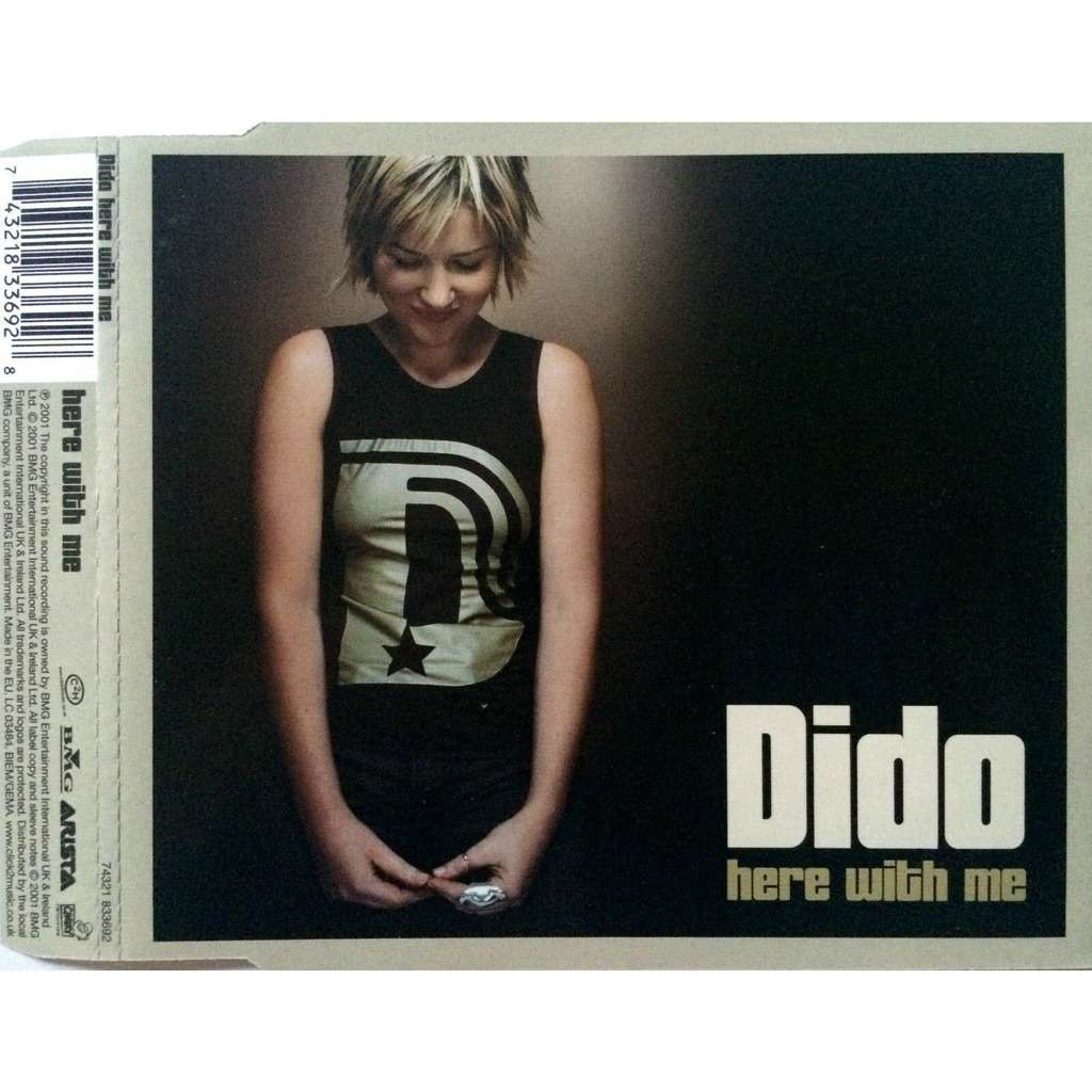 DIDO - HERE WITH ME (EURO PRESSING 4 TRK 1 MAXI-CD)