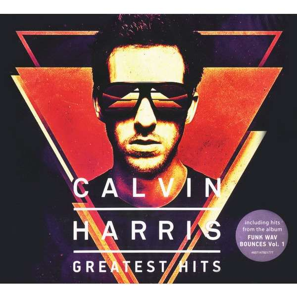 CALVIN HARRIS GREATEST HITS 2 CD Digipak (2017 Edition, Includes tracks from Funk Wav Bounces Vol.1)