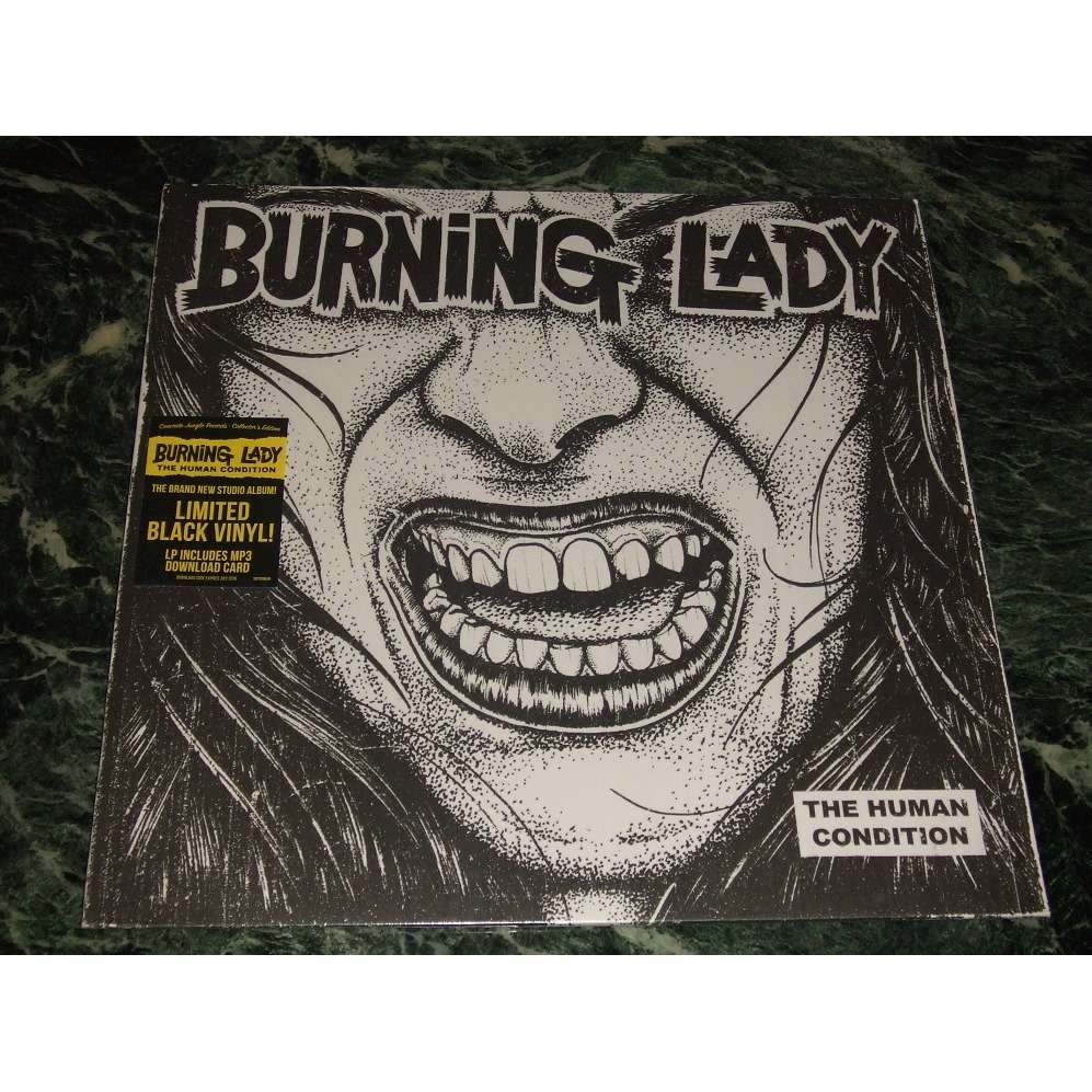 Burning Lady The Human Condition