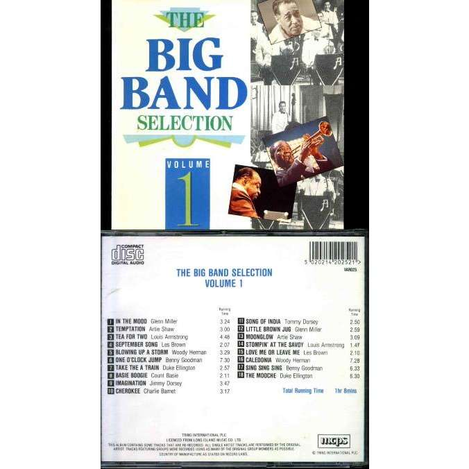 MILLER Glenn, SHAW Artie... Big Band selection (The) Vol 1