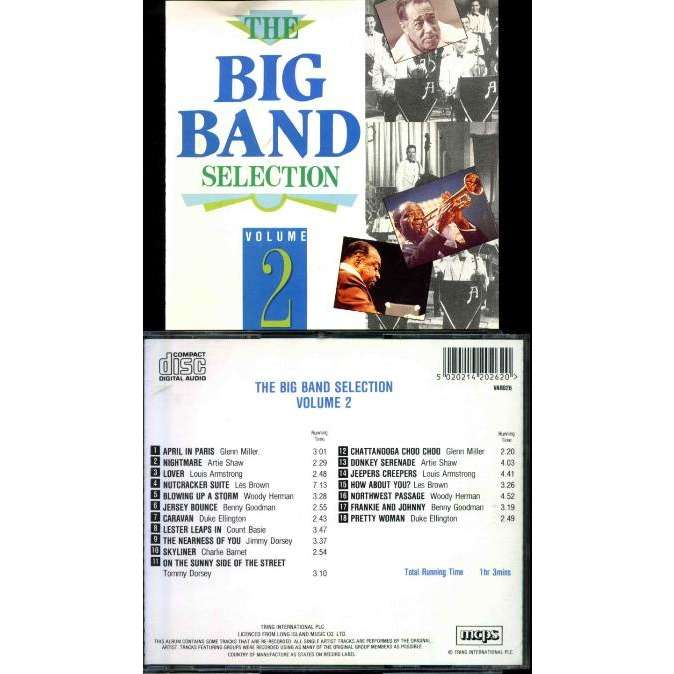 MILLER Glenn, SHAW Artie... Big Band selection (The) Vol 2