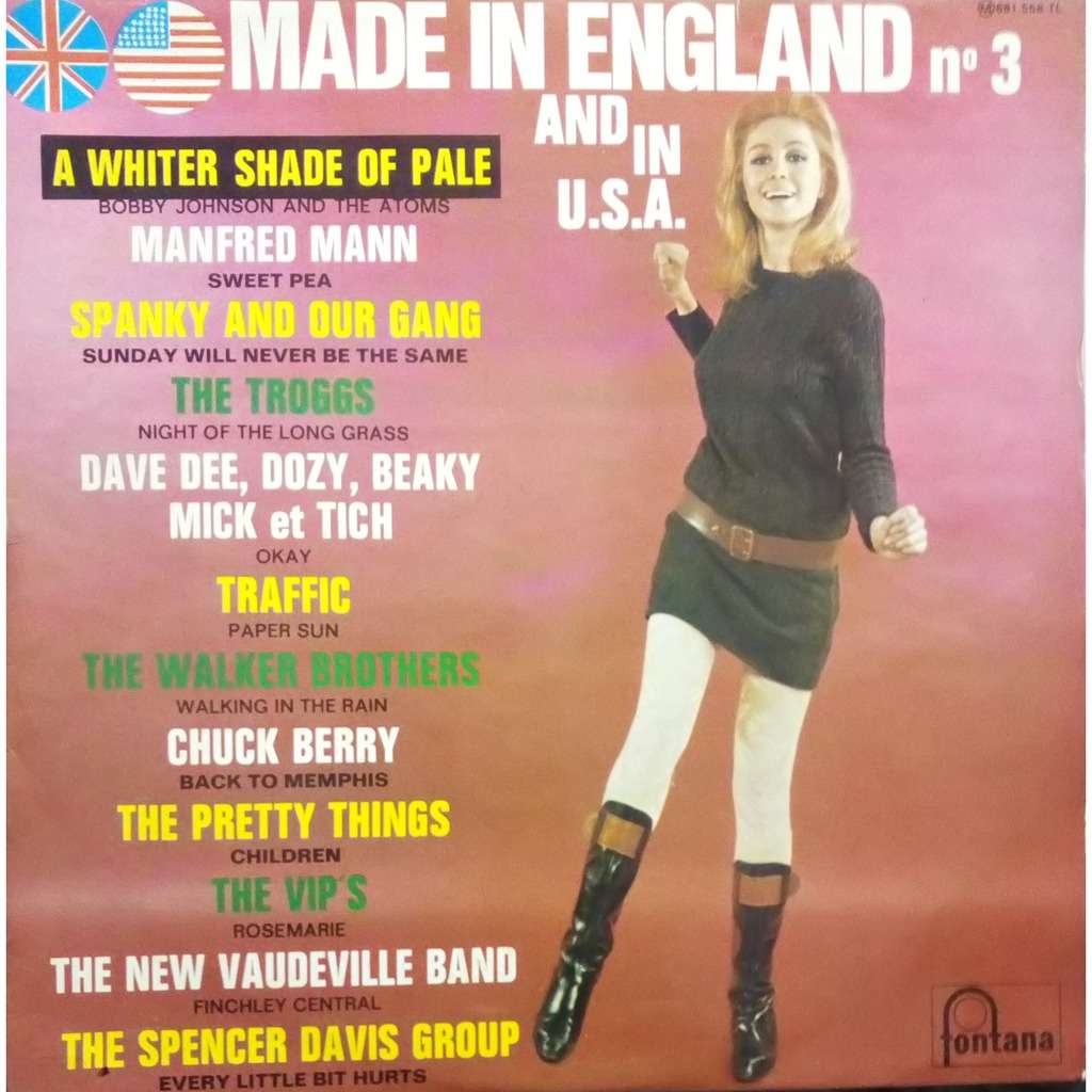 12 ARTISTES MADE IN ENGLAND AND IN USA n 3