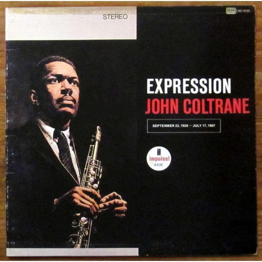 John Coltrane Expression