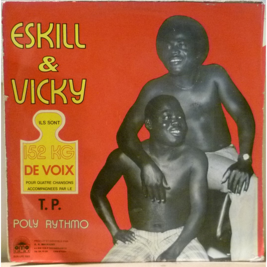 ESKILL & VICKY & POLY RYTHMO 152 kg de voix