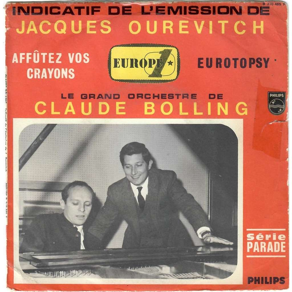 CLAUDE BOLLING Affûtez vos crayons / Eurotopsy