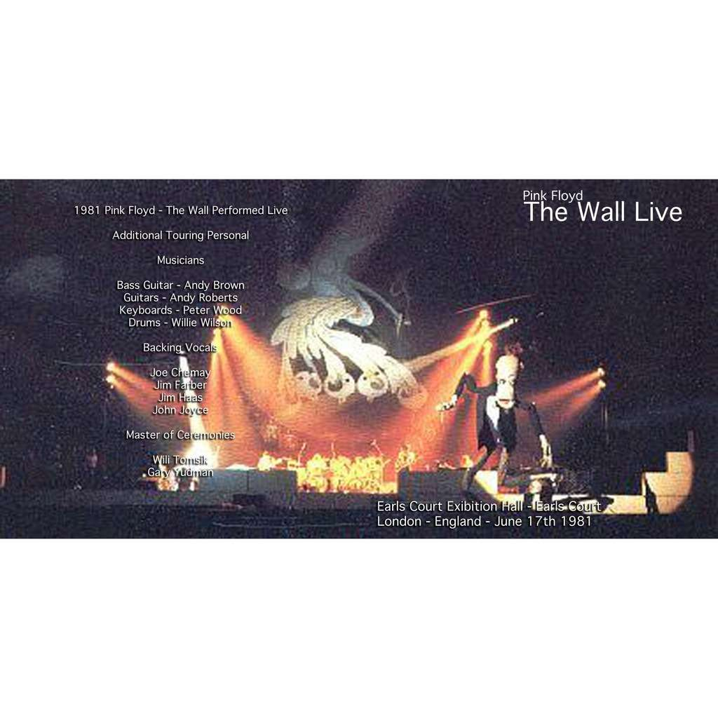 PINK FLOYD EARLS COURT 81 - LAST NIGHT