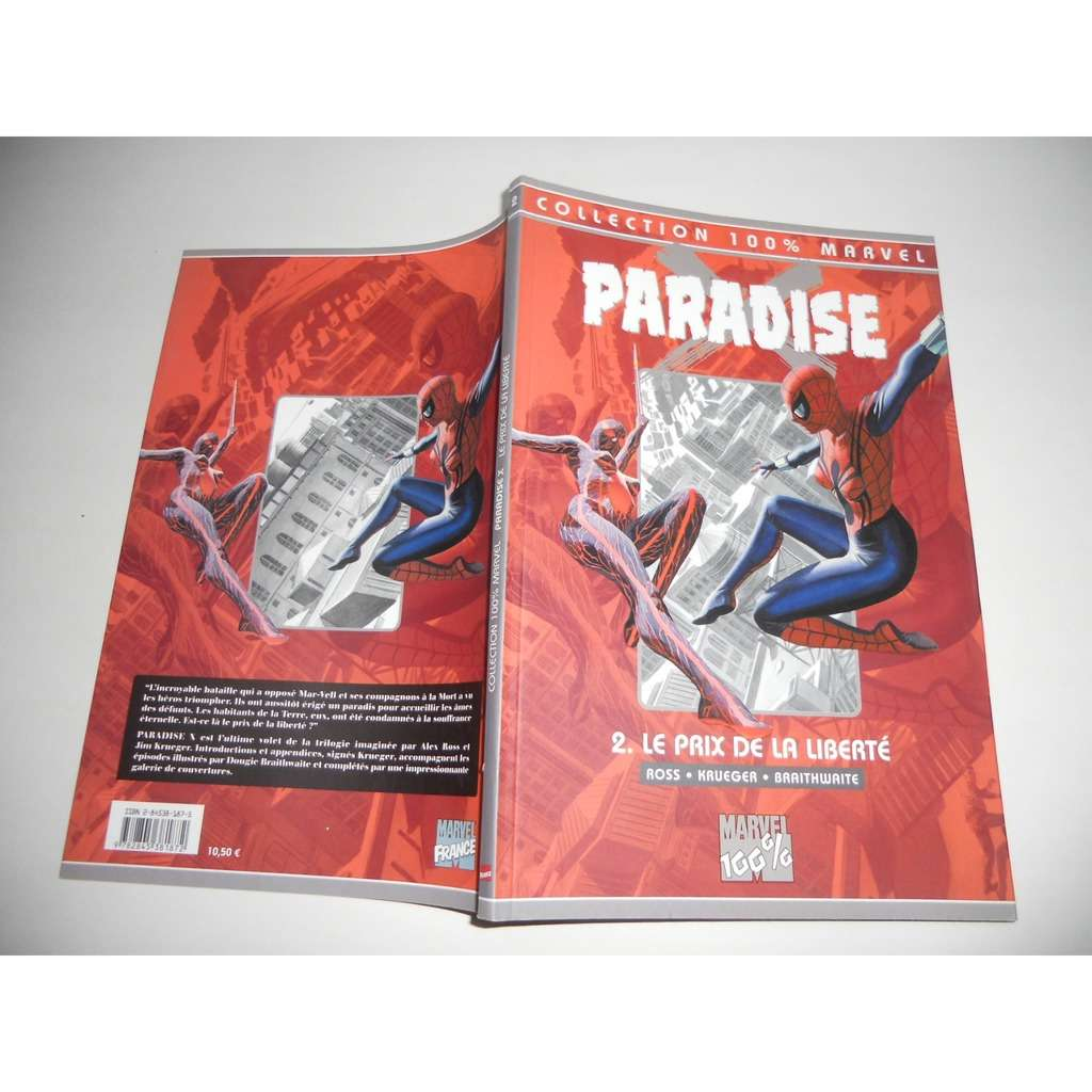 COLLECTION MARVEL 100% Paradise X N°3 Asgard Au Pa COLLECTION MARVEL 100% Paradise X N°3 Asgard Au Paradis TBE